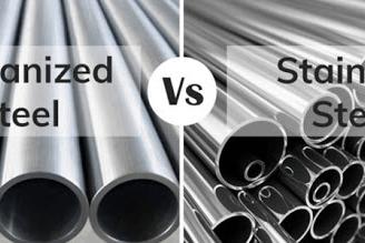 Galvanized vs stainless